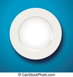 πιάτο , αδειάζω