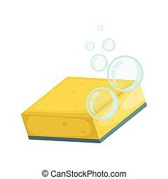 πιάτο , γελοιογραφία , πλύση , παράσιτο , κίτρινο