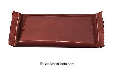 πλάκα σοκολάτας , περικάλυμμα , πλαστικός