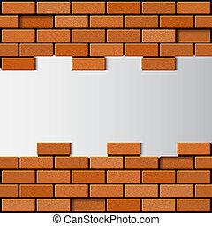 πλίνθινος τοίχος