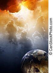 πλανήτης , αναμμένος απειλή