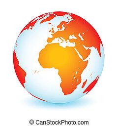 πλανήτης γαία , καθολικός , εικόνα , κόσμοs
