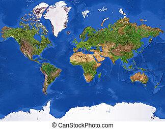 πλανήτης γαία , πλοκή