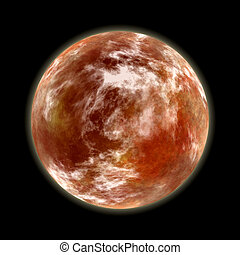 πλανήτης , κόκκινο