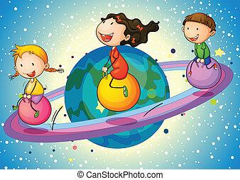 πλανήτης , μικρόκοσμος