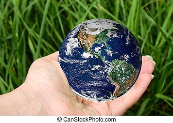 πλανήτης , χέρι