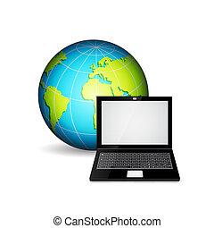 πλανήτης , laptop