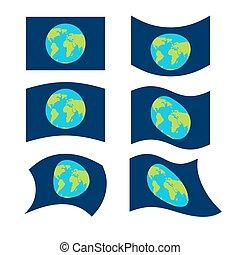 πλανήτης , set., επίσημος ανώτερος υπάλληλος , σύμβολο. , παραδοσιακός , σημαία , paced, γη , εθνικός , γαλαξίας