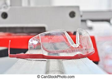 πλαστικός , βιομηχανικός , ασφάλεια βάζω τζάμια