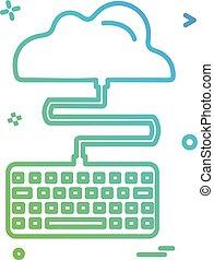 πληκτρολόγιο , μικροβιοφορέας , σχεδιάζω , εικόνα