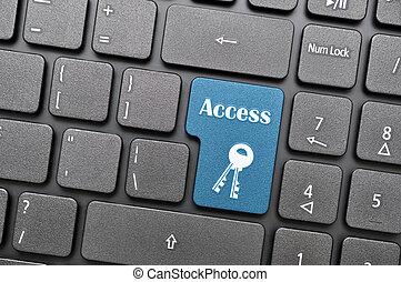 πληκτρολόγιο , πρόσβαση