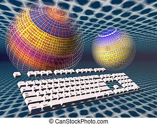 πληκτρολόγιο , πρόσβαση , internet