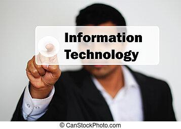 πληροφορία , αρέσω ο ένας στον άλλο , κουμπί , αποφασίζω , επαγγελματικός , αρσενικό , τεχνολογία