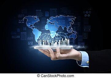 πληροφορία , γενική ιδέα , τεχνολογία , internet