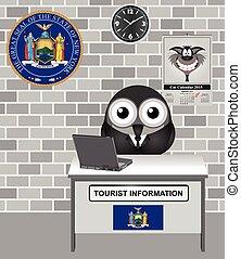 πληροφορία , περιηγητής , πόλη , york , καινούργιος