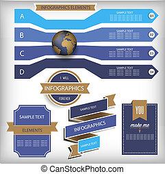 πληροφορία , elements., χάρτηs , infographic, κόσμοs , graphics.