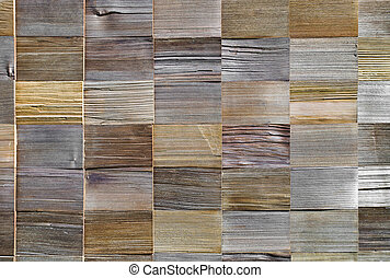 πλοκή , από , κέδρος , ξύλο