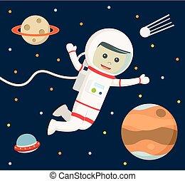 πλωτός , αστροναύτης , διάστημα