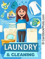 πλύση , γυναίκα , μικροβιοφορέας , ρούχα , μπουγάδα