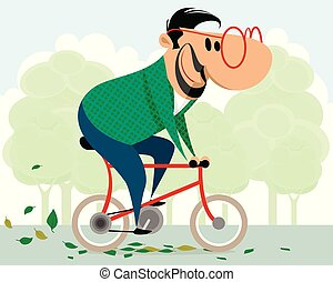 ποδήλατο , άντραs
