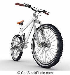 ποδήλατο , απομονωμένος , αναμμένος αγαθός , φόντο