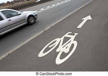 ποδήλατο , δρόμος αναχωρώ