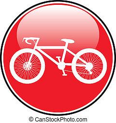 ποδήλατο , εικόνα , επάνω , στρογγυλός , internet , κουμπί
