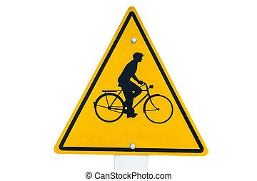ποδήλατο , σήμα κυκλοφορίας