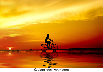 ποδηλάτης , περίγραμμα