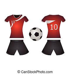 ποδόσφαιρο , απομονωμένος , ομοειδής