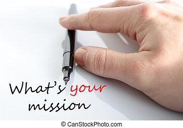 ποια βρίσκομαι , γενική ιδέα , δικό σου , αποστολή