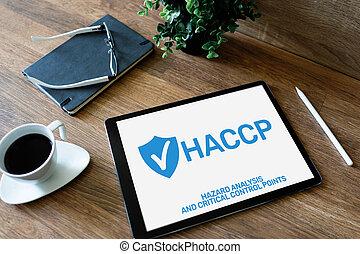 ποιότητα , βεβαίωση , διακόπτης , κίνδυνοs , μέτρο , επικριτικός , διεύθυνση , point., δικάζω , - , ανάλυση , haccp