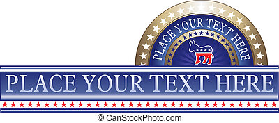 πολιτικός , δημοκράτης , επιγραφή