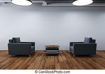 πολυτέλεια , δυο , έδρα , δωμάτιο , αναμονή