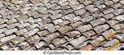 πολύ , επιστρώνω με πλακάκια , γριά , οροφή