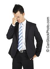 πονοκέφαλοs , επιχειρηματίας