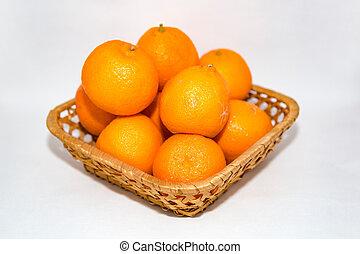πορτοκάλι , καλαθοσφαίριση , μανταρίνια
