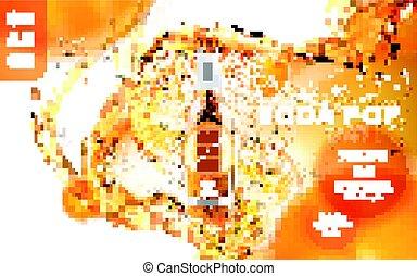 πορτοκαλέα soda , διαφήμιση , κρότος