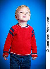 πορτραίτο , αγόρι , χαριτωμένος