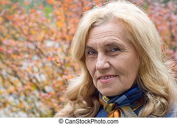 πορτραίτο , γυναίκα , γριά