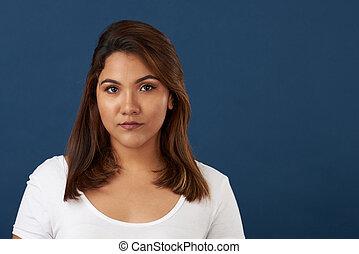 πορτραίτο , γυναίκα , νέος , ισπανικός