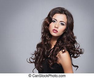 πορτραίτο , γυναίκα , νέος , ομορφιά , ελκυστικός