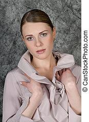 πορτραίτο , γυναίκα , closeup