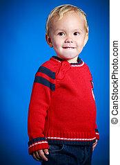 πορτραίτο , χαριτωμένος , αγόρι