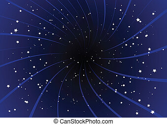 πορφυρό , ξεσπώ , και , stars.