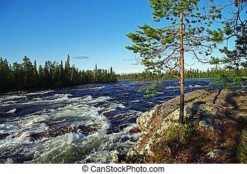 ποτάμι , rapids.