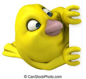 πουλί , κίτρινο
