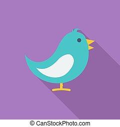 πουλί , icon.