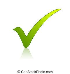 πράσινο , ανακοπή απόδειξη
