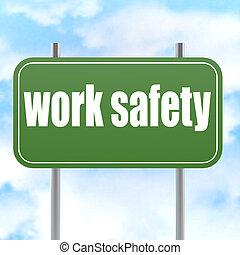 πράσινο , δουλειά , ασφάλεια , δρόμος αναχωρώ